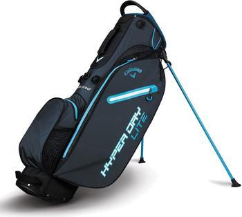 Callaway Hyper Dry Lite Standbag titanium/black/neon blue