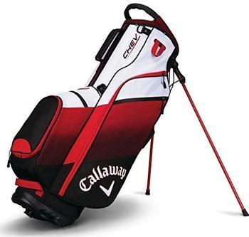 Callaway Chev Standbag black/red/white