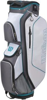 Wilson Pro Staff Classic II Cartbag white/mint