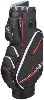 Wilson I-Lock III Cartbag black/red