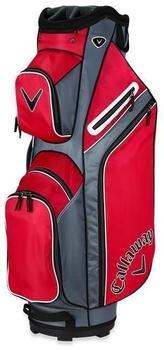Callaway X Series Cart Bag red/titanium/white
