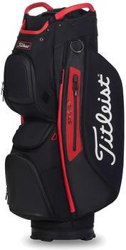Titleist Cart 15 StaDry Cart Bag (TB20CT7) black/black/red