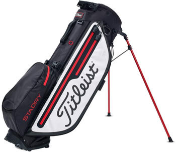 Titleist Players 4 Plus StaDry Stand Bag (TB9SX3) black/white/red