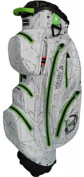 Bennington Sport QO 14 Waterproof Cartbag silver flash/lime