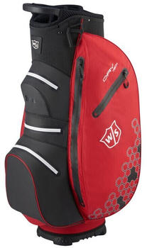 Wilson Staff Dry Tech II Cart Bag (WGB4908) red white