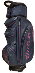 JuCad Silence Dry Cartbag dark blue/pink