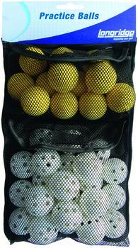 Longridge Practice Golf Ball Pack 32 Stück