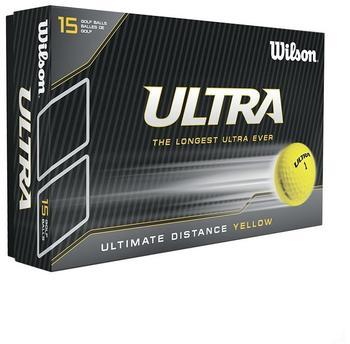 Wilson Ultra yellow (15 Pieces)