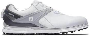 Footjoy Pro SL Mens Golf Shoes grau/weiß/silber (53817105M)