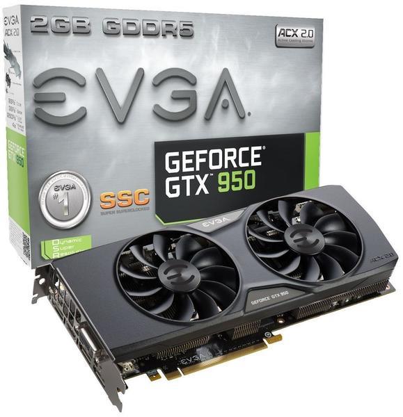 EVGA GeForce GTX 950 SSC ACX 2.0 2048MB GDDR5