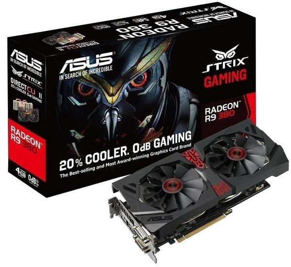 Asus STRIX Radeon R9 380 2GB GDDR5 990MHz (90YV08D0-M0NA00)