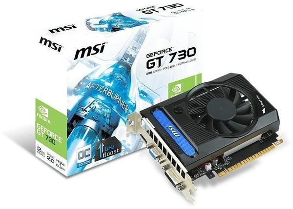 MSI N730K-2GD3/OC (2048MB)