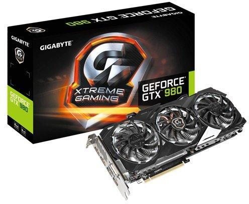 Gigabyte GeForce GTX 980 XTREME GAMING 4GB GDD5 1241MHz (GV-N980XTREME-4GD)