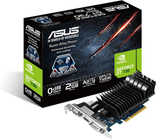 Asus GeForce GT 730 SL-2GD5-BRK 2GB GDDR5 902MHz (90YV06N2-M0NA00)