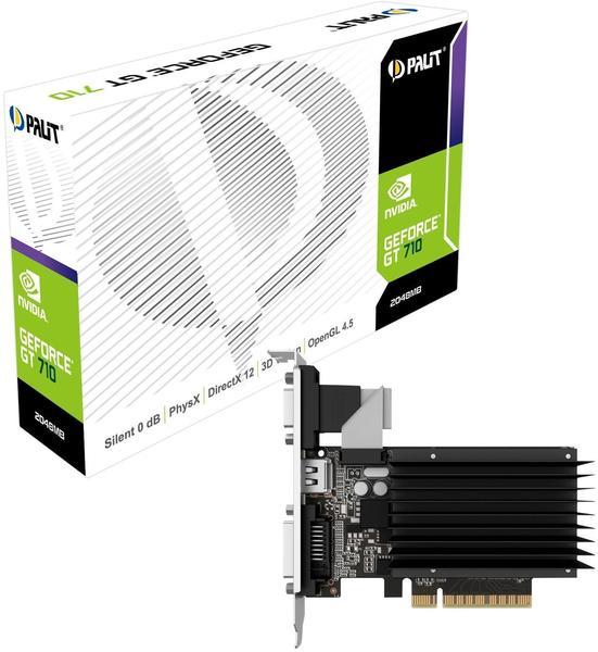 Palit XpertVision GeForce GT 710 passiv 2048MB DDR3