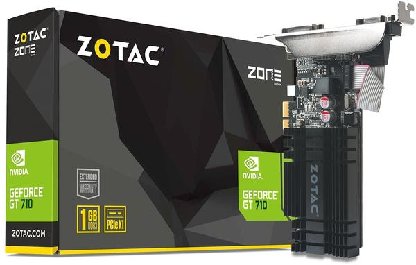 Zotac GeForce GT 710 1024MB DDR3 (ZT-71304-20L)