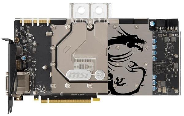 MSI GeForce GTX 1070 Sea Hawk EK X 8192MB GDDR5