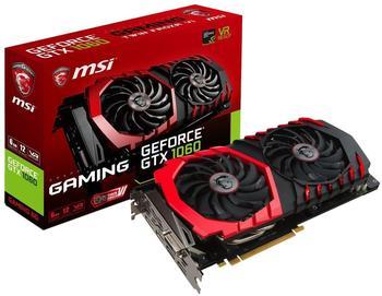 MSI GeForce GTX 1060 Gaming X 6144MB GDDR5