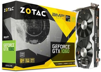 Zotac GeForce GTX 1060 AMP! Edition 6GB GDDR5