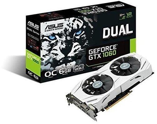 Asus DUAL-GTX1060-O6G (6144MB)
