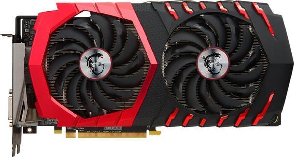 MSI Radeon RX 480 Gaming X 8192MB GDDR5