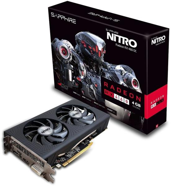 Sapphire Radeon RX 460 Nitro 4GB GDDR5