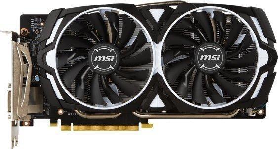 MSI GeForce GTX 1060 Armor OCV1 3072MB GDDR5