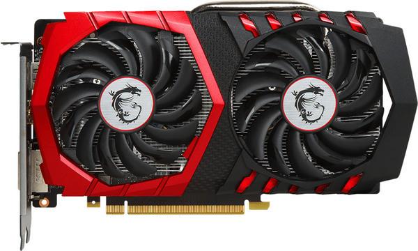 MSI GeForce GTX 1050 Ti Gaming X 4G Grafikkarte