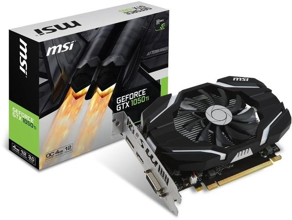 MSI GeForce GTX 1050 Ti 4G OC 4GB GDDR5 1341MHz (V809-2272R)