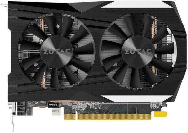 Zotac GeForce GTX 1050 Ti OC Edition 4096MB GDDR5
