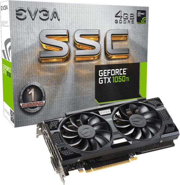EVGA GeForce GTX 1050 Ti SSC GAMING ACX 3.0 4096MB GDDR5