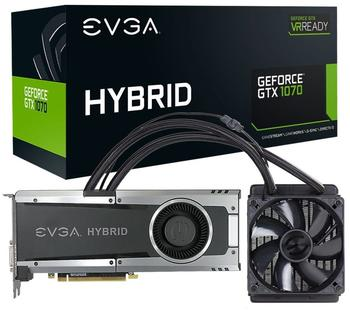 EVGA GeForce GTX 1070 Hybrid Gaming 8192MB GDDR5