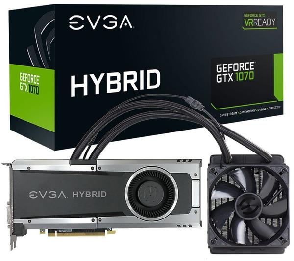 EVGA GeForce GTX 1070 Hybrid Gaming 8192MB GDDR5