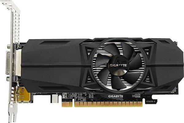GigaByte GeForce GTX 1050 Ti OC Low Profile 4096MB GDDR5