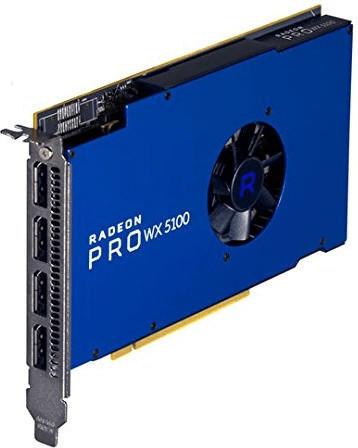 AMD Radeon Pro WX 5100 8192MB GDDR5