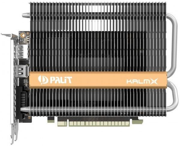 Palit XpertVision GeForce GTX 1050 Ti KalmX 4096MB GDDR5
