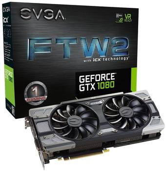 EVGA GeForce GTX 1080 FTW2 GAMING iCX 8192MB GDDR5X