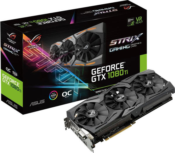 Asus ROG-STRIX-GTX1080TI-O11G-GAMING (11GB)