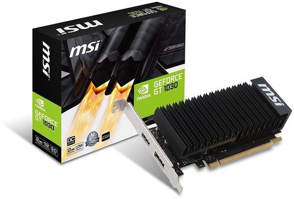 MSI GeForce GT 1030 2GH LP OC (2048MB)