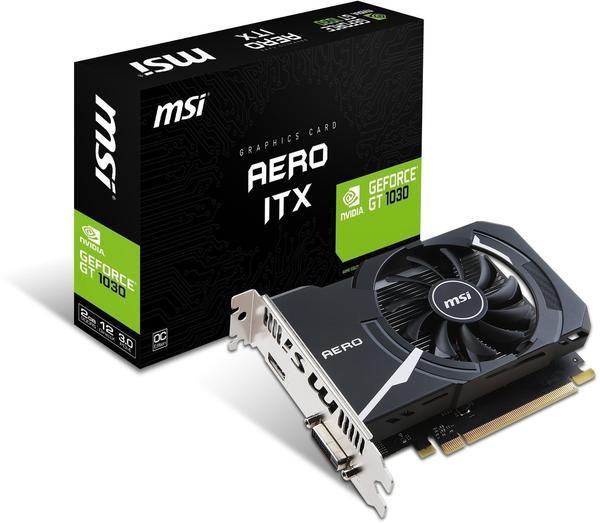 MSI GeForce GT 1030 AERO ITX 2G OC (2048MB)