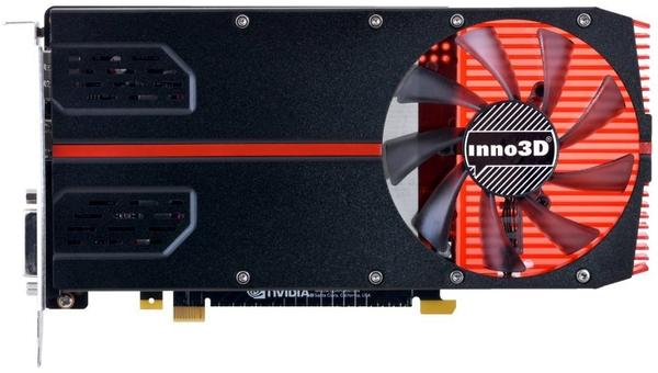 Inno3D GeForce GTX 1050 Ti Compact Single Slot 4096MB GDDR5
