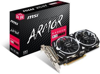 MSI Radeon RX 570 Armor OC 8GB GDDR5