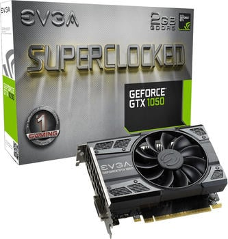 evga GeForce GTX 1050 SC Gaming 2GB GDDR5 1417MHz (02G-P4-6152-KR)