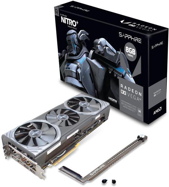 Sapphire Radeon RX Vega64 NITRO+ 8GB HBM2