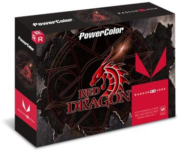 PowerColor Radeon RX Vega 56 Red Dragon 8GB HMB2 Grafikkarte