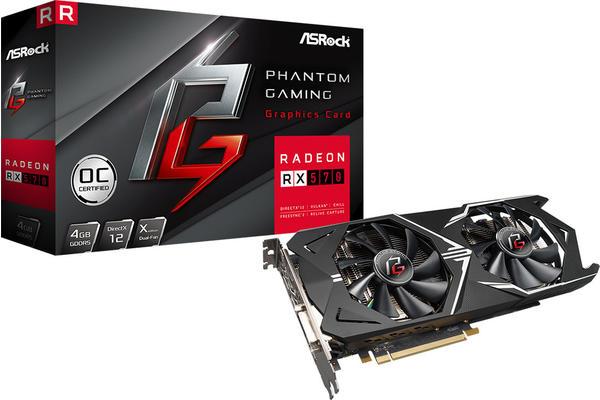 ASRock Radeon RX 570 Phantom Gaming X 4GB GDDR5