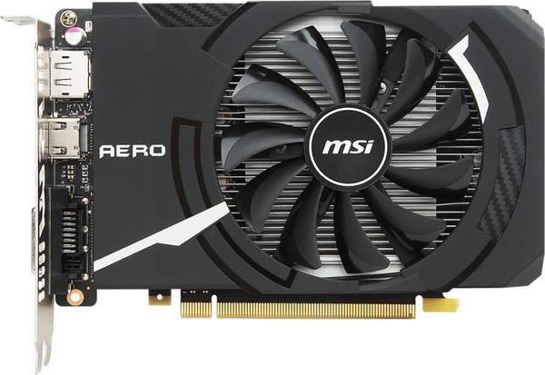 MSI GeForce GTX 1050 Ti AERO ITX 4G OCV1 (4096MB)