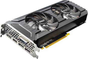 Palit GeForce GTX 1060 GamingPro OC, Grafikkarte Hdmi, 3x DisplayPort, Dvi-D