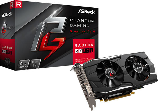 ASRock Radeon RX570 Phantom Gaming D 4GB GDDR5