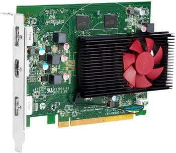 HP AMD Radeon RX550 4 GB 2DP Karte